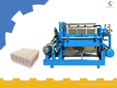 Egg Tray Making Machine Set