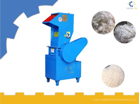 Hardness plastic crusher
