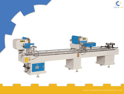 UPVC Profile Two head cutting saw